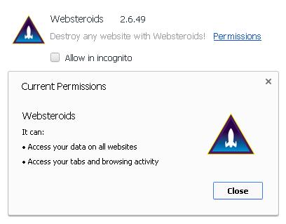 websteroids service